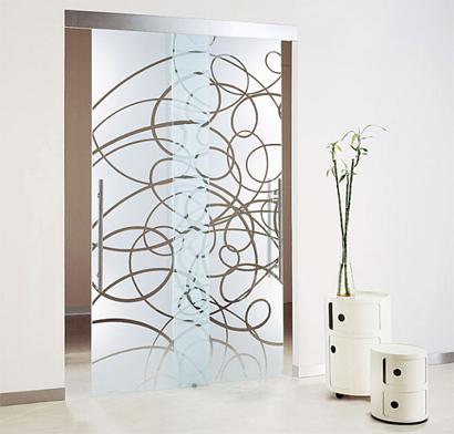 Notranja vrata - Decorar cristales de puertas ...