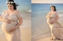 Kim je na pregledu ginekolog presenetil z novico, da bo rodila petorčke.
