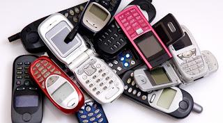 Zavrzite stare mobilnike. Vir: gizmoeditor.com