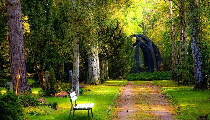 Z otrokom lahko skupaj posadita drevo ali postavita spomenik v spomin preminulemu ljubljenčku.