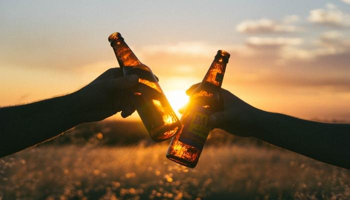 Alkohol poviša vašo telesno temperaturo, količnino znoja in etanola, kar privlači komarje.