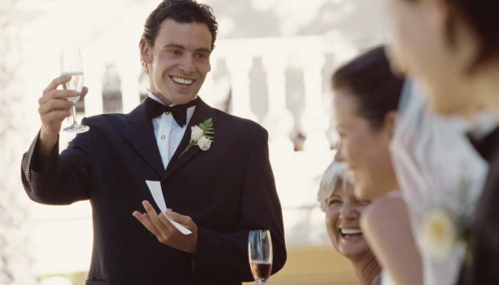 Brez poročnega govora ne bo šlo. Vir: huffingtonpost.com
