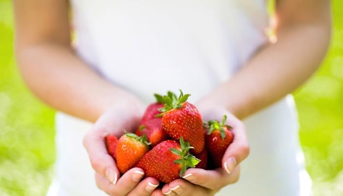 Ni slajšega, kot doma pridelane jagode! Vir: myhealthylivingcoach.com