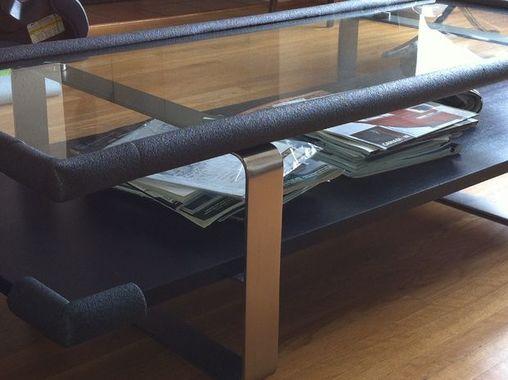 Oblazinite robove steklene mize. Vir: simplemost.com
